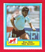 West Germany Klaus Allofs Marseille